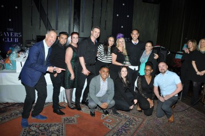 Jennifer Barker and the team from Cosmopolitan Las Vegas